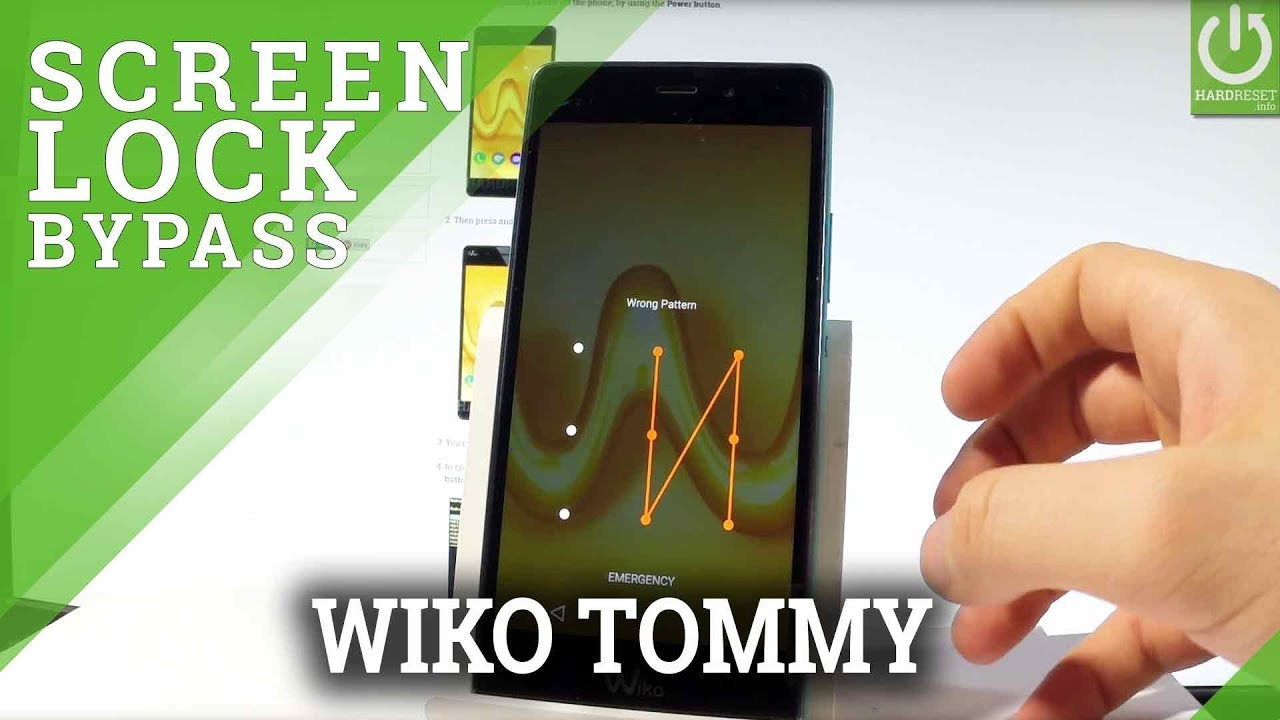 Hard Reset WIKO Tommy - Bypass Screen Lock / Android Master Reset