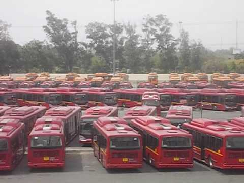 Largest Bus Depot in Asia was millenium Depot of  DTC- Delhi Transport Corporation