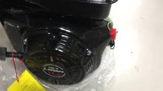 видео Двигатель Lifan 182FD