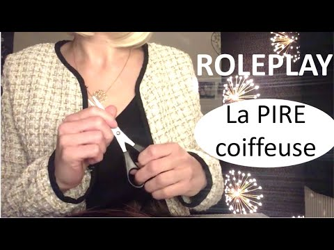 {ASMR ROLEPLAY} La pire coiffeuse