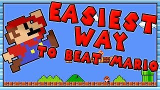 HOW TO BEAT SUPER MARIO BROS IN 200 EASY STEPS - Dylon Show
