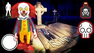 КЛОУН ПЕННИВАЙЗ СОЗДАЛ ЯД СОСЕД ГРЕННИ - Clown Neighbor 2 Granny Escape