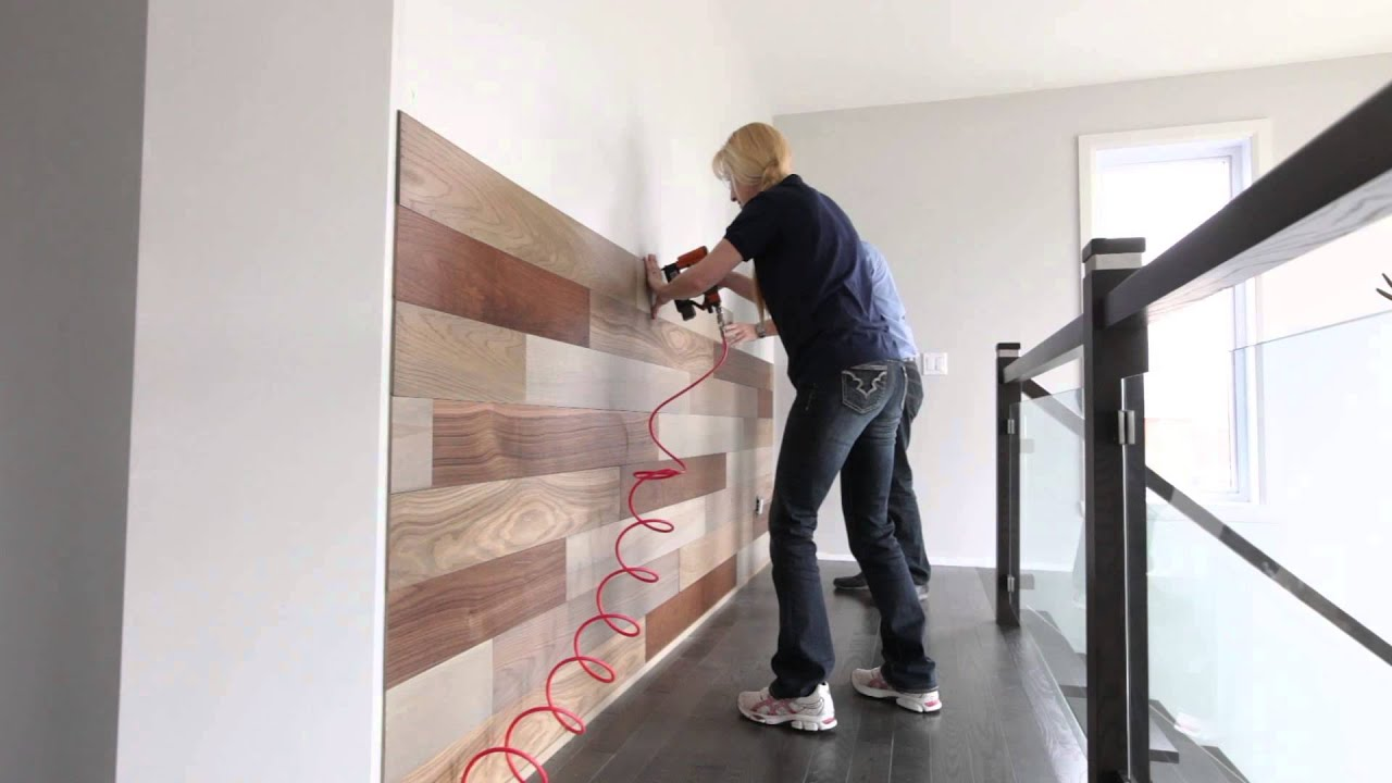 Nouveau mur finium de la collection cho urbain installation rapide youtube - Plancher qui grince que faire ...