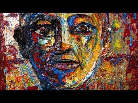 Original oil painting art artwork impressionism realism female - m1024