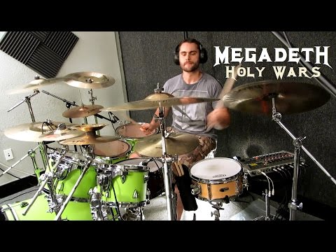 MEGADETH - Holy Wars... The Punishment Due - Drum Cover