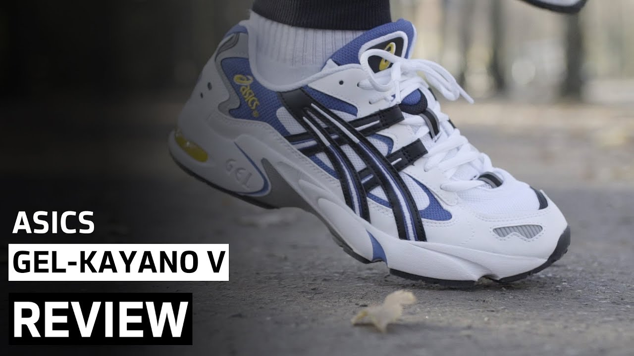 best service 9de18 0ead7 Asics Gel-Kayano V OG   Review + On-Feet   AFEW STORE (Retro Runner)