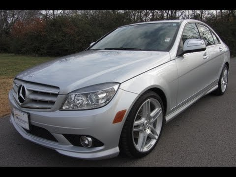 Sold2009 MERCEDES BENZ C300 RWD AMG WHEELS 48K SILVER AT FORD OF MURFREESBORO 888 439 1265