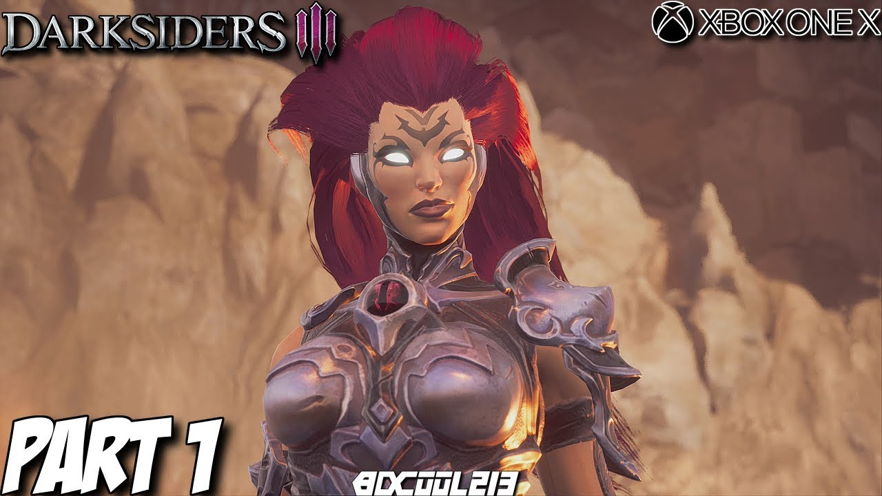 Darksiders 3 Gameplay Walkthrough Part 1 - Envy Boss Fight ...