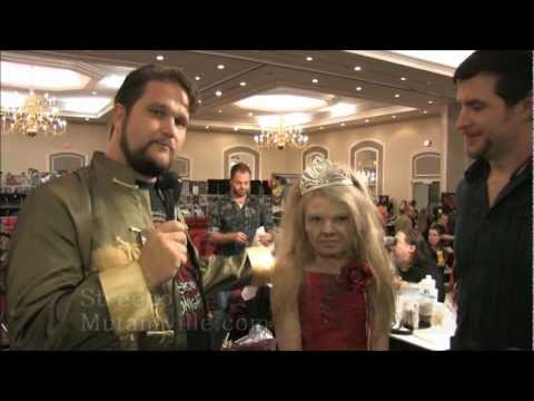 Ghost Trek makeup demo with Connor McCullagh & Addy Miller The Walking Dead