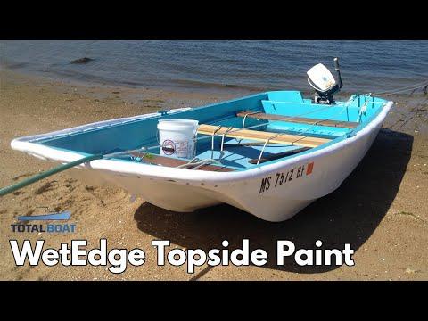 TotalBoat Wet Edge Topside Paint