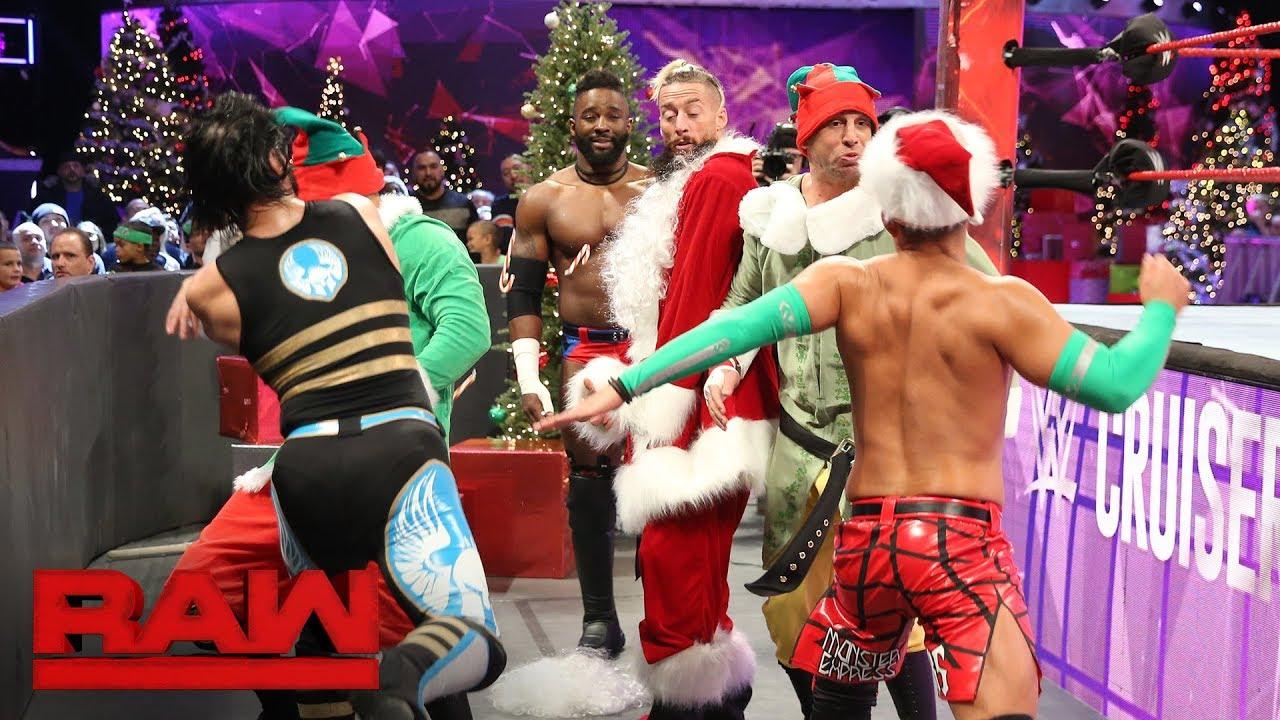 Download Alexander, Ali & Tozawa vs. Amore, Gulak & Daivari - Six-Man Tag Street Fight: Raw, Dec. 25, 2017