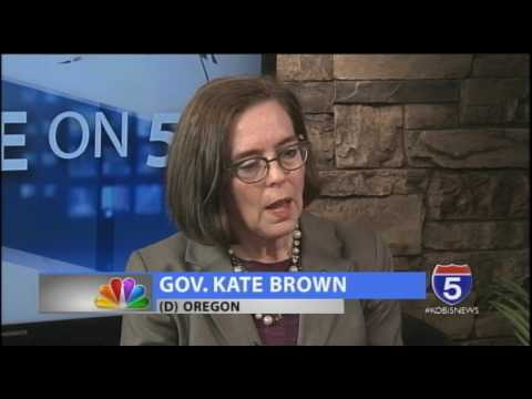 Five on 5 - Governor Kate Brown - (D) Oregon