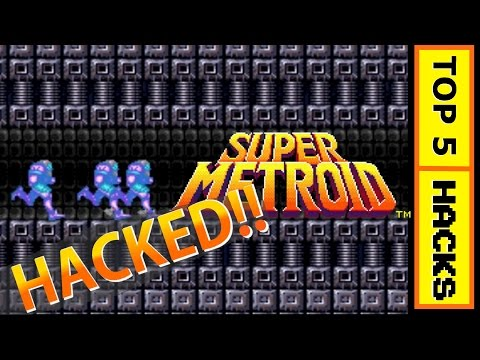 Super Metroid - TOP 5 HACKS!! - GameGuide Episode 2