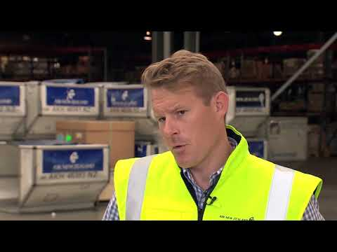 Air New Zealand's new cargo tracking technology