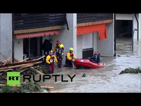 Germany: Four dead as floods cause state of emergency in Lower Bavaria