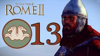 Мощь варварского кабанчика - Тила #13 😠 ROME II TOTAL WAR