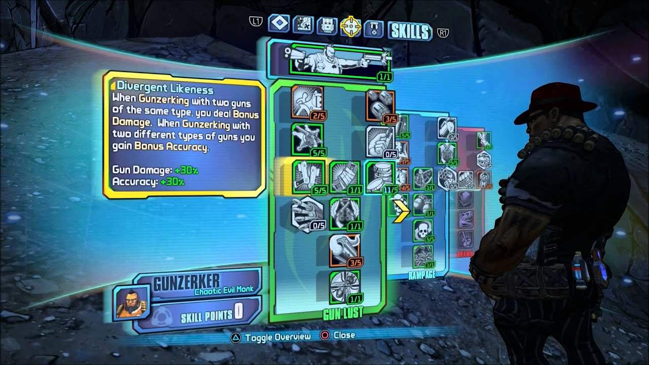 BORDERLANDS 2 HC | The Best Op 8 Gunzerker Build - Highest DPS and Never  Dying