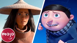 Top 10 Anticipated Animated Movies of 2021