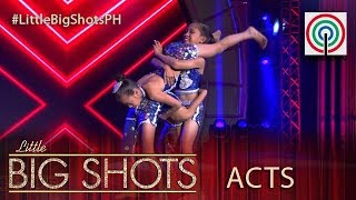 Little Big Shots Philippines: 10-year-old Winnie Rose, Angel and Jefferson | Flexy Buddies