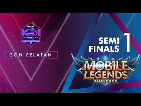 MLBB CELCOM #XPAXKEK SEM 2 Semi Final 1 Zon Selatan- Blank [UTM Skudai] vs Forces Reborn [UTHM]