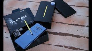 Samsung Galaxy Note 9 kutu açılışı - Hediyeli mediyeli!!!