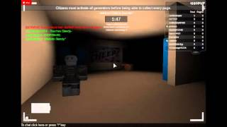 ROBLOX STOP IT SLENDER GAMEPLAY PART 4 JUMPSCARE