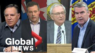 Coronavirus outbreak: Canada's provinces announce new cases, discuss school and business closures