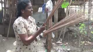 Sweeping Away Poverty - Making Brooms in Batticaloa, Sri Lanka