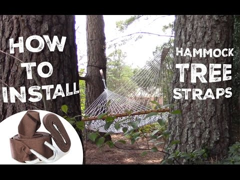 How to Install and Use Your Hammock Tree Straps