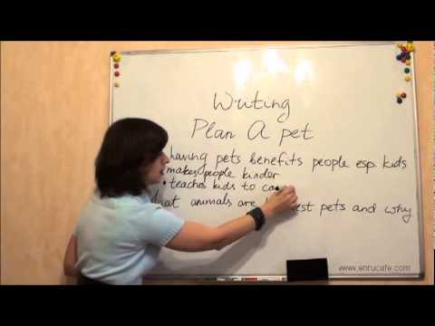Как написать по английски видео