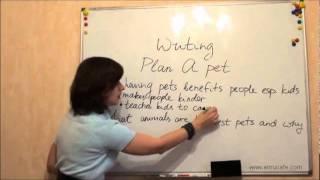 Письмо (ВНО, английский): Как составить план, видео урок
