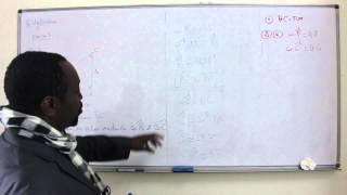 Exercices - Troisième - Mathématiques : Exercice D'application - 1ère Partie