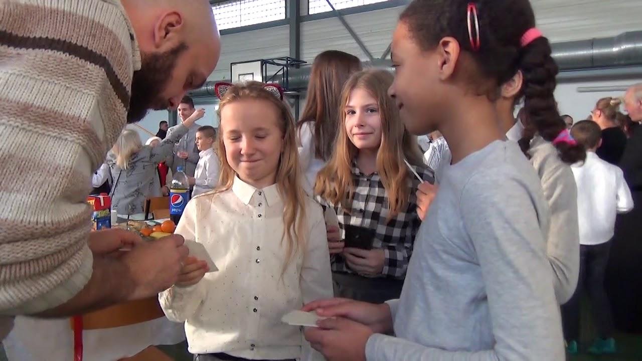 Wspólna Wigilia w szkole w Marzęcinie. – 23.12.2017