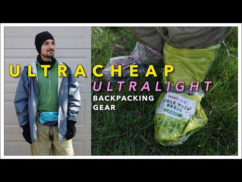 Ultra-CHEAP Ultralight Backpacking Gear