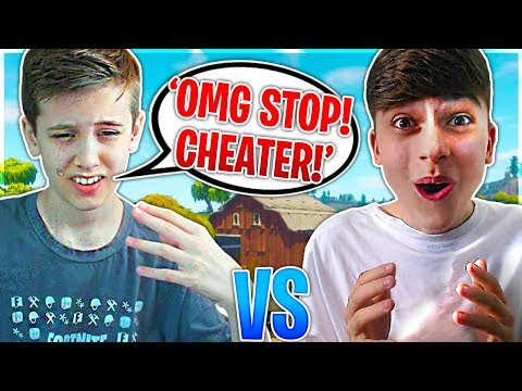 CHEATING AGAINST A PRO 14 YEAR OLD FORTNITE PLAYER (Sceptic) | Fortnite Battle Royale 1v1
