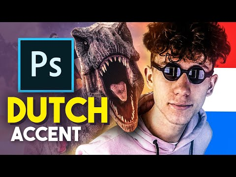 A Photoshop Tutorial, But It's With A Horrible Dutch Accent.
