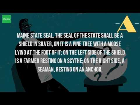 What Is The State Seal Of Maine?