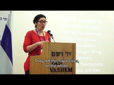 Professor Eliyana Adler's Lecture: Polish Jewish Refugees in Central Asia during the Shoah