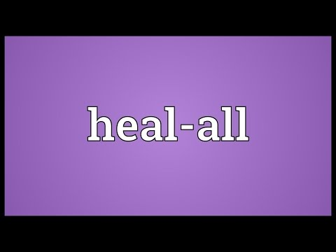 Heal-all Meaning