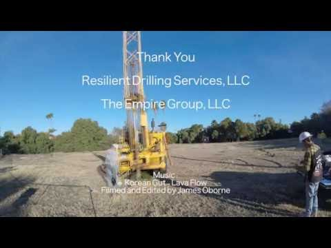 Bridleway on Central - Allwyn Consultants Drilling with Resilient