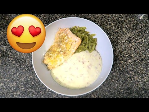 easy-mommy-meal:-baked-salmon-(vlogmas-day-17)