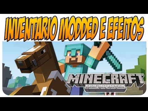 Minecraft Xbox 360 Mod Tutorial: Como Instalar MOD no Minecraft - Inventário MODDED - Tutorial #2
