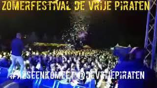 Zomerfestival 'De Vrije Piraten' in Veenklooster