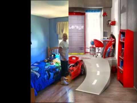 Superhero bedroom decorating ideas - YouTube