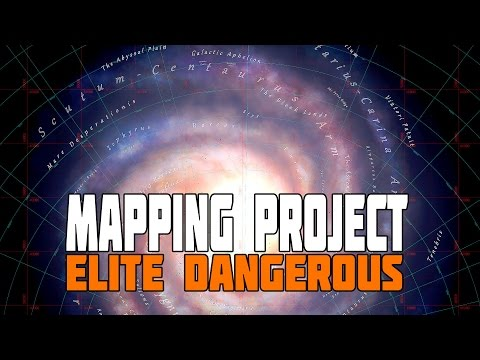 Elite Dangerous - The Galactic Mapping Project - The Galaxy Revealed