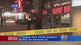 Police: 3 Hurt In Brooklyn Restaurant Hammer Attack