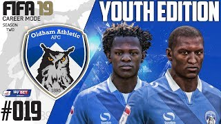 Fifa 19 Career Mode  - Youth Edition - Oldham Athletic - Season 2 EP 19