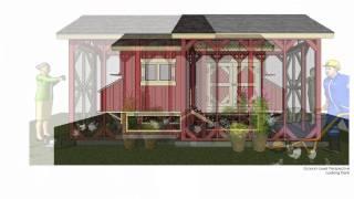 Ss101 - Chicken Coop Plans Construction - Chicken Coop Design - How To Build A Chicken Coop