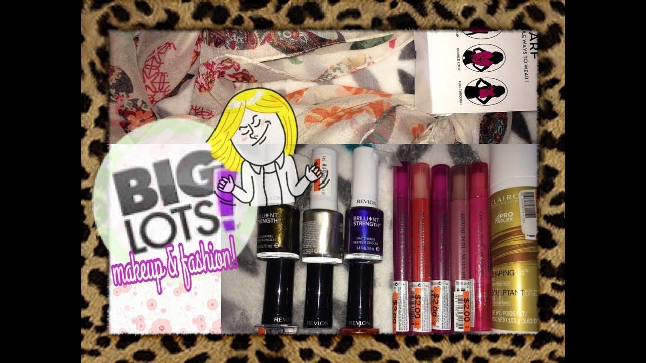 Big Lots HAUL! New Fashion, Beauty, & Nail Polish Finds! - YouTube