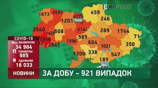 Коронавірус в Украі ні статистика за 19 червня